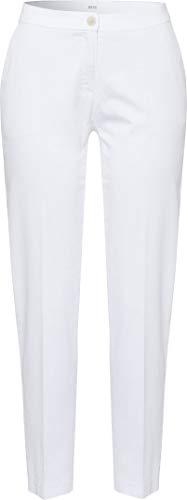 BRAX Damskie spodnie Maron City Sport Premium Pull On spodnie, białe (White 99), 44 W / 32L