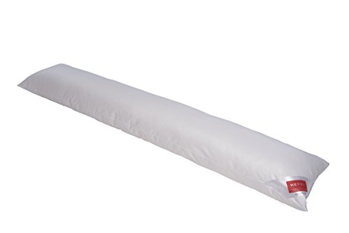 HEFEL Kissen für Seitenschläfer, Polyester, Weiß, 35x 160x 10cm