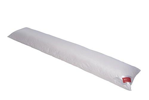 Hefel kussen voor zijslapers, polyester, wit, 35 x 160 x 10 cm