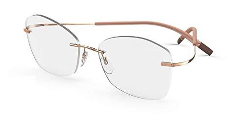 Schwarzkopf Brillen Gafas de Vista Silhouette TMA THE ICON 5541/IY ROSE GOLD 53/17/0 Unisex