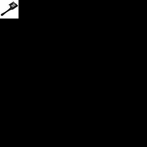 1 Pc Professionnel Cheveux Double Face Rasoir Peigne Noir Poignée Cheveux Rasoir De Coupe Amincissement Peigne Maison DIY Tondeuse À L'intérieur avec Lames