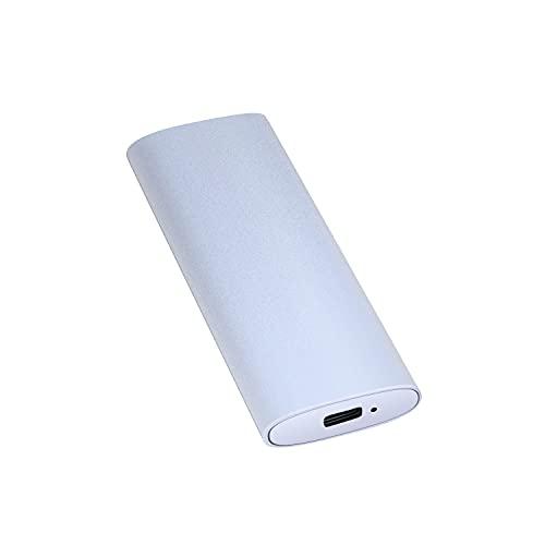 External Hard Drive1TB 2TB,Portable External Ultra Slim Hard Drive Portable HDD Type C Hard Drive for Mac,PC(1TB Silver)