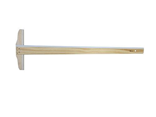 ドラパス T型定規 白セル縁 90cm 12004