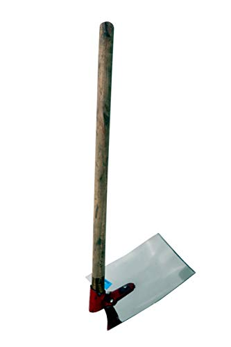 JSS Stainless Steel Spade for Gardening or Digging Heavy Duty Agriculture Tool (Kassi fawda Shovel Hoe)