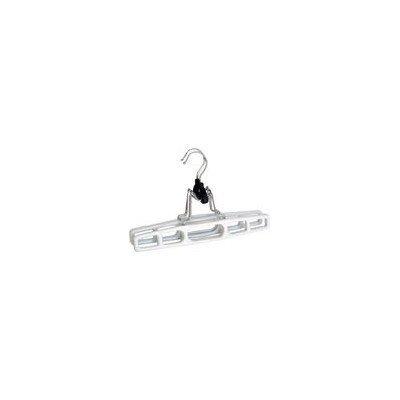 3*12 packs Merrick Engineering C84311-GH White Giant Tubular Plastic Hanger
