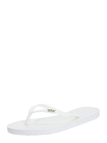Roxy Viva Sandal for Women, Tongs. Femme, Blanc Doux, 38 EU