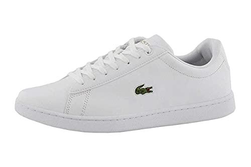 Lacoste Women's Hydez Sneaker, White/Gold, 9
