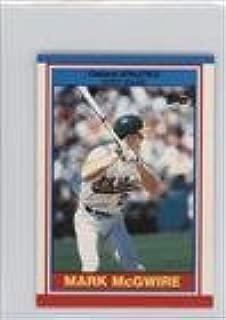 Mark McGwire (Baseball Card) 1989 Topps United Kingdom Minis - [Base] #51