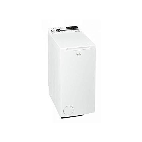 Whirlpool - Lavadora carga superior 7 kg TDLR 7222BS NX/N blanco, 1200 rpm, tecnología 6th sense y freshcare, motor direct drive, eficiencia NEL E