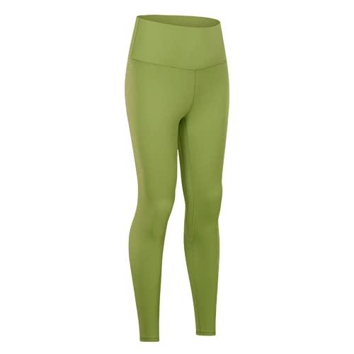 QTJY Pantalones de Yoga de Cintura Alta para Mujer, Leggings, Pantalones de Fitness al Aire Libre, Pantalones Deportivos elásticos de Secado rápido, Pantalones de Yoga DM