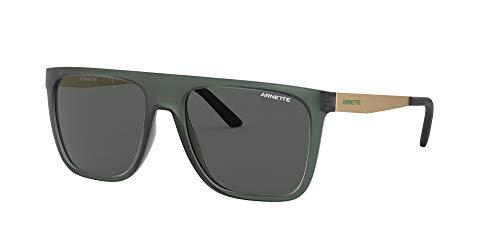 Arnette 0AN4261 Gafas, Verde Transparente Mate/Gris, 55 para Hombre