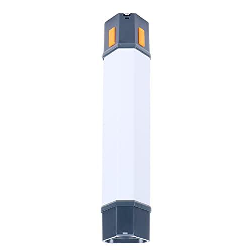 JYLSYMJa Reflector de Emergencia para Exteriores, 2500 mAh, Linterna Recargable USB Multifuncional, Accesorios de iluminación Impermeables para Acampar, Aventuras, Tiendas de campaña