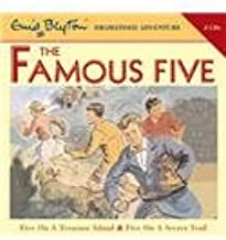 Famous Five on Treasure Island and Famous Five on Secret Trail: AND Five on a Secret Trail