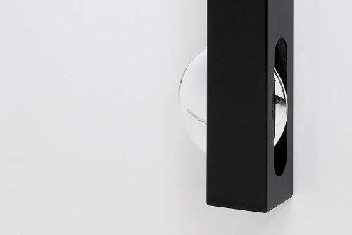 Kare Design Orologio da Parete, Nero, 65x6x6cm