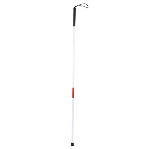 Bastón para ciegos, bastón plegable para ciegos Bastón para caminar al aire libre para ciegos con discapacidad visual