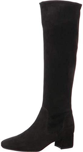 Peter Kaiser Tomke Womens Suede Knee High Boots 38.5 EU Schwarzes Wildleder