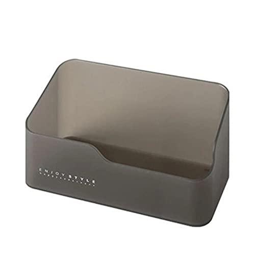 xinlianxin Caja de almacenamiento cosmética de plástico cajón organizador divisor de cajones organizador de joyas de maquillaje Rangement Cocina hogar cajones de almacenamiento (color: negro grande)