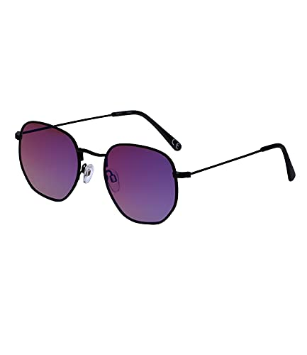 SIX Große Sonnenbrille für Frauen und Männer, Unisex, Linsen-Kategorie 2 und UV400-Filter, verspiegelt (326-338)
