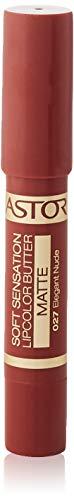Astor Soft Sensation Lipcolor Butter Matte – Langanhaltender und pflegender Lippenstift für ein elegantes Finish – Farbe Elegant Nude 027 – 1 x 5 g