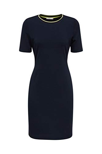 edc by Esprit 030CC1E310 Kleid, Damen, Blau M