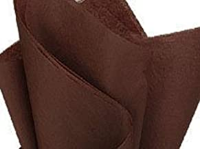Bulk Tissue Paper Chocolate Brown 20 Inches x 30 inches - 48 XL Sheets