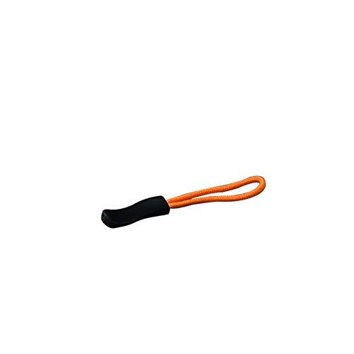Durable Zipper Pulls Zipper Tab Zipper Tags Cord Pulls Zipper Extension Zip Fixer for Backpacks, Jackets, Luggage, Purses, Handbags (10PCS, Orange)