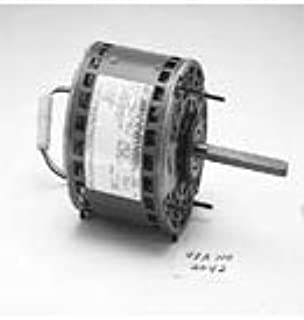 Marathon X000 48Y Frame Open Air Over 48A11O1798 Direct Drive Motor 1/4 hp, 1075 RPM, 115 VAC, 1 Phase, 3 Speeds, Ball Bearing, Permanent Split Capacitor, Thru-Bolt