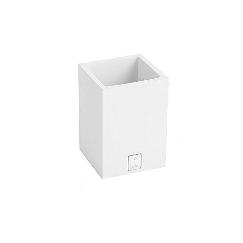 JOOP! Lifestyle Behälter quadratisch - Weiss - Größe: 7,5 x 11 cm