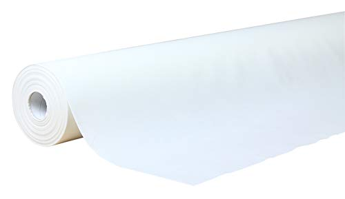 Gomà-Camps - Toallas Desechables AIRLAID, 1 Rollo de 120 x 80 Cm, 60 Unidades   Ideal Estética y Peluquería, Grandes, Multiusos, Muy Absorbentes y Resistentes, Celulosa