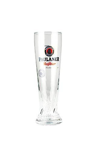 Paulaner 2X Weizenbierglas 0,5L - Gebraut mit Zeit