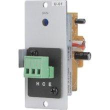 Great Features Of TOA U-01S Unbalanced Line Input Module w/Terminal Block