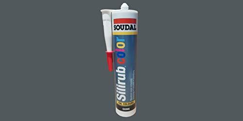 Sellador de silicona RAL Color emparejado, aplicaciones interiores y exteriores (7011 gris hierro)