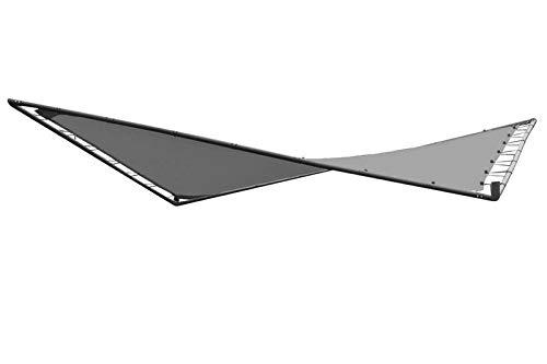 OUTFLEXX Butterfly Ersatzdach, grau, Polyester, 300 x 300 cm