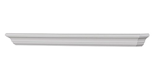Mantels Direct Colton 60-Inch Fireplace Mantel Shelf, White