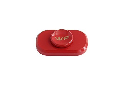 WeFidget Original The Bar Premium Hand Spinner, Designed for Stress and Anxiety Relief. (Red)