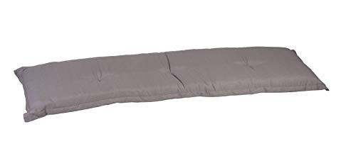 Beo Gartenbank Auflage 3-Sitzer grau ca. 145 x 45 cm ca.7 cm dick Design P212