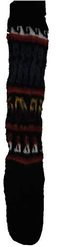 Terrapin Trading Fair Trade Unisex bolivianischen weiche Alpaka Woll Wolle Lange Socken GRÖSSE 4-9 M