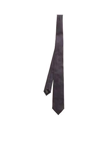 Z ZEGNA Luxury Fashion Herren Z7D901L7B Grau Seide Krawatte   Frühling Sommer 20