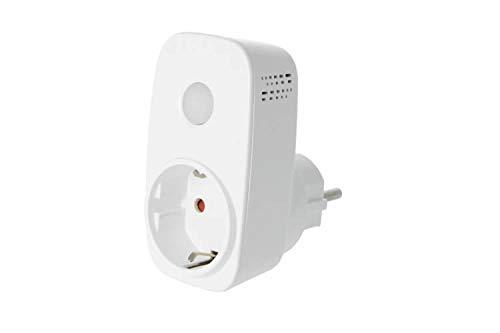 SP3S WiFi Smart Plug con seguimiento consumo smartlan Socket WLAN (con indicador de consumo y control APP) temporizador mando Socket Power Automation Conmutador para iPhone y Android para Broadlink