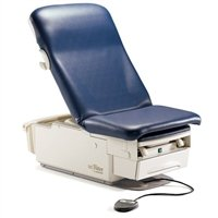 Midmark 223-016 Ritter 223 Barrier-free Exam Table Base with Seamless Upholstery Top, with Pelvic Tilt and Drawer Warmer, with Receptacle # 002-0871-216 Seamless Upholstery Top, Pebble Color (Each)