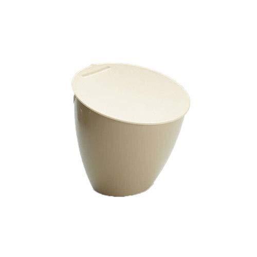 Inicio Resina Plástico Resistente Papelera Redonda/Canasta/Almacenamiento-Ideal para El Hogar, La Oficina, Los Hoteles Cubo De Basura Cuadrado Almacenamiento De La Canasta Ideal Moderno Bote De B