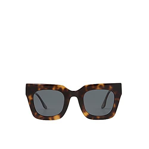 MO Gafas De Sol Polarizadas Front Row Linda B De Mujer. Gafas Cuadradas De Color Carey