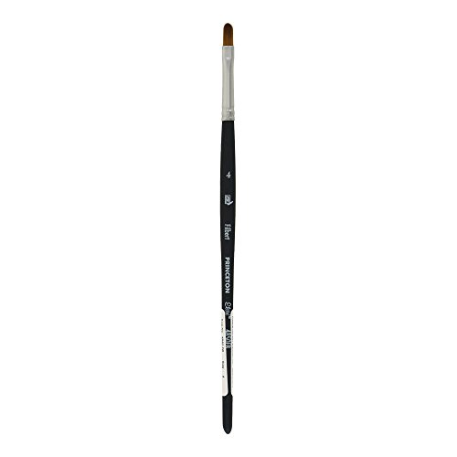 Princeton Elite NextGen Artist Brush, Series 4850 Synthetic Kolinsky Sable for Watercolor, Filbert, Size 4
