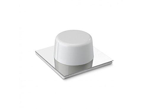 Inofix M88327 - Tope puerta adhesivo 2023 blanco blister 2 unidades
