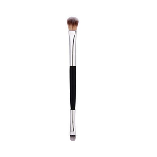 Ombre à paupières pinceau pinceau à mélanger pour applicateur de produits cosmétiques professionnels à double extrémité