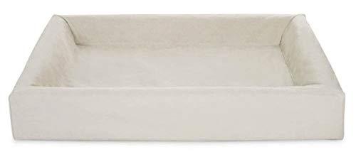 Bia bed cotton overtrek hondenmand zand BIA-80 100X80X15 CM