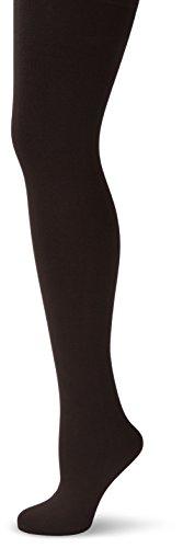Nur Die DamenStrumpfhose 715502/Wohlig-Warm, 100 DEN, Gr. 44 (Herstellergröße: 40-44M), schwarz (schwarz 094)
