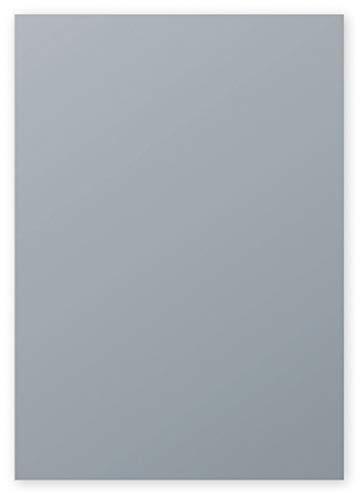 Clairefontaine 4199C Packung mit 50 Blatt Pollen, DIN A4, 210 x 297 mm, 120g, Silber
