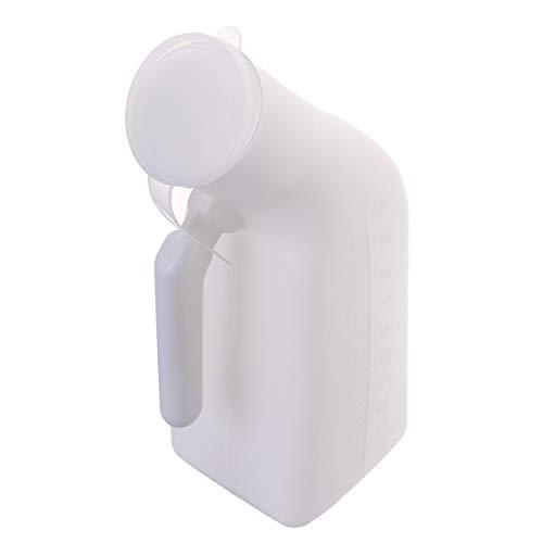 HEALLILY Pappagallo urina uomo urina di bottiglia portatile per uomo anziani 1 pezzo