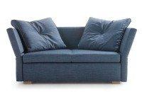 Schlafsofa LAVIN, 133x209cm, Sofa mit Schlaffunktion von Signet - Sam Denim